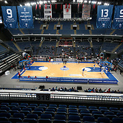 Anadolu Efes's and Erdemir's during their Turkish Basketball League match Anadolu Efes between Erdemir at Arena in Istanbul, Turkey, Wednesday, January 28, 2012. Photo by TURKPIX