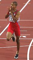 Friidrett. VM 2001 Edmonton. SANCHEZ, Felix     Dominikanische Republik<br />                   Leichtathletik     WM 2001  400m Hürden