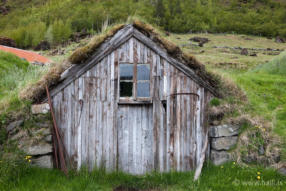 Núpsstaður - The farm Nupsstadur on the south coast of Iceland