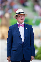 Dr. Pearse Lyons, Founder and President of Alltech - Show Jumping Final Four - Alltech FEI World Equestrian Games™ 2014 - Normandy, France.<br /> © Hippo Foto Team - Leanjo de Koster<br /> 07-09-14