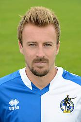 Chris Lines of Bristol Rovers - Mandatory byline: Dougie Allward/JMP - 07966386802 - 03/08/2015 - FOOTBALL - Bristol Rovers Training Ground -Bristol,England - Bristol Rovers Headshots