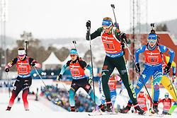 March 16, 2019 - –Stersund, Sweden - 190316 Vanessa Hinz of Germany competes in the Women's 4x6 km Relay during the IBU World Championships Biathlon on March 16, 2019 in Östersund..Photo: Johan Axelsson / BILDBYRÃ…N / Cop 245 (Credit Image: © Johan Axelsson/Bildbyran via ZUMA Press)