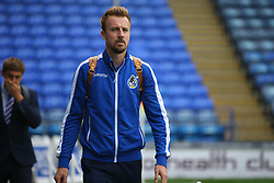 Chris Lines of Bristol Rovers arrives at Fratton Park - Mandatory by-line: Jason Brown/JMP - 26/09/2017 - FOOTBALL - Fratton Park - Portsmouth, England - Portsmouth v Bristol Rovers - Sky Bet League One