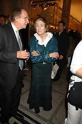 THE DOWAGER MARCHIONESS OF SALISBURY at a party to celebrate the 150th anniversary of the V&A museum, Cromwell Road, London on 26th June 2007.<br /><br />NON EXCLUSIVE - WORLD RIGHTS