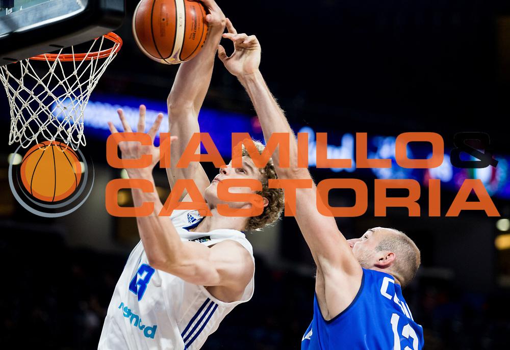Nazionale Italiana Maschile Senior<br /> Eurobasket 2017 - Final Phase - Round of 16<br /> Finlandia Italia Finland Italy<br /> FIP 2017<br /> Istanbul, 09/09/2017<br /> Foto GiulioCiamillo / Ciamillo - Castoria