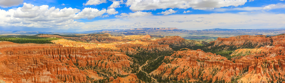 Bryce Canyon Panorama, taken May 15, 2016, from Sunrise Point.
