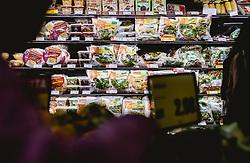 THEMENBILD - Teatro Italia, di Spar Einkaufsgeschäft, Salate, aufgenommen am 03. Oktober 2019 in Venedig, Italien // Teatro Italia, di Spar shopping mall, salats in Venice, Italy on 2019/10/03. EXPA Pictures © 2019, PhotoCredit: EXPA/ JFK
