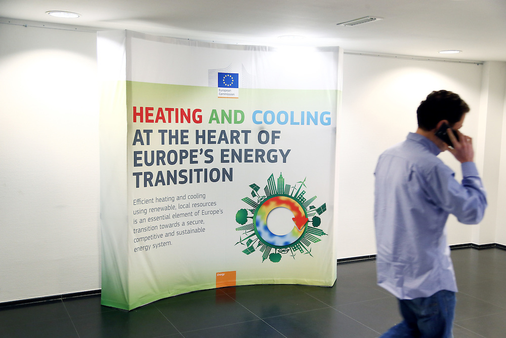 20150226 - Brussels - Belgium - 26 February 2015 -  Heating and cooling in the European energy  transition conference - Illustration picture © EC/CE - Patrick Mascart