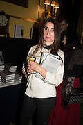 SUSANNAH JONES, Launch hosted by Quartet books  of Madam, Where Are Your Mangoes? by Sir Desmond de Silva at The Carlton Club. London. 27 September 2017.