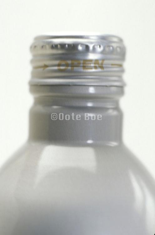 close up of bottle cap