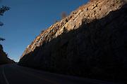 Pedra Azul_MG, Brasil...Trecho da BR 251 em Pedra Azul, Minas Gerais...The highway BR 251 in Pedra Azul, Minas Gerais...Foto: LEO DRUMOND / NITRO