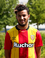 Abdellah Zoubir during photoshooting of RC Lens for new season 2017/2018 on October 5, 2017 in Lens, France<br /> Photo by RC Lens / Icon Sport