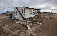 Damage in Ortley Beach New Jersey following Hurricane Sandy.