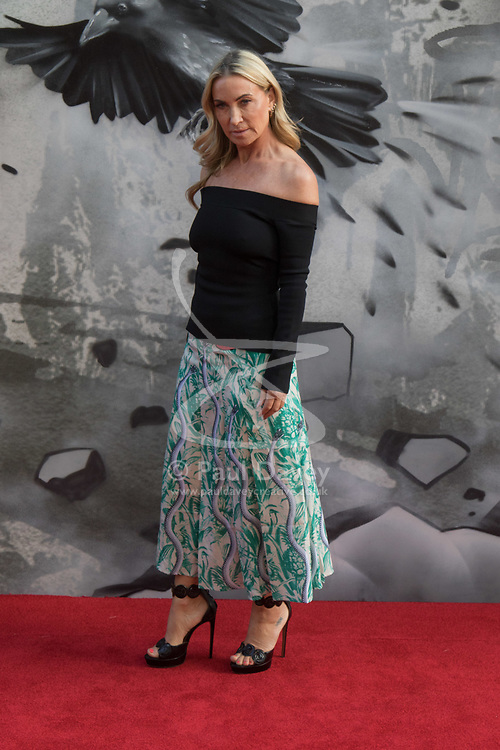 London, May 10th 2017. Meg Mathews attends the European premiere of King Arthur - Legend of the Sword at the Cineworld Empire in Leicester Square.