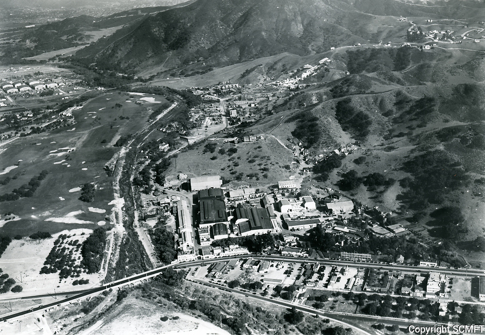 1928 Aerial photo of Universal Studios