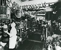 1940 Prop room at Selznick Studio in Culver City
