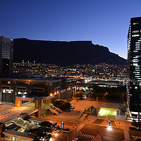 Cape Town CBD at night