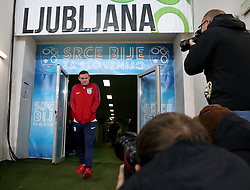 Wayne Rooney of England arrives at The SRC Stozice Stadium ahead of the World Cup Qualifier against Slovenia- Mandatory by-line: Robbie Stephenson/JMP - 10/10/2016 - FOOTBALL - SRC Stozice - Ljubljana, England - England Press Conference