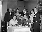10/12/1957<br /> 12/10/1957<br /> 10 December 1957<br /> Tipperary Men's Association Dance at the Gresham Hotel, Dublin.