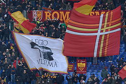 January 19, 2019 - Rome, Italy - AS Roma supporters during the Italian Serie A football match between A.S. Roma and F.C. Torino at the Olympic Stadium in Rome, on january 19, 2019. (Credit Image: © Silvia Lore/NurPhoto via ZUMA Press)