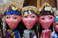 Ouzbekistan, Khiva, patrimoine mondial de l UNESCO, artisanat pour touriste // Uzbekistan, Khiva, Unesco World Heritage, craft for tourist