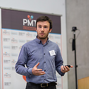 31.08. 2017.                                   <br /> Leaders in the pharmaceutical manufacturing sector in Ireland gathered at University of Limerick today for the third annual Pharmaceutical Manufacturing Technology Centre (PMTC) Knowledge Day.<br /> <br /> Pictured at the event was Daniel Riordan.<br /> <br /> The event provided a showcase for the cutting-edge research supported by the centre with key note addresses from industry thought leaders who shared their vision of the future for the pharmaceutical sector. Picture: Alan Place