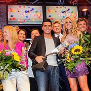 NLD/Den Bosch/20120920- Uitreiking Buma NL Awards 2012, groepsfoto artiesten
