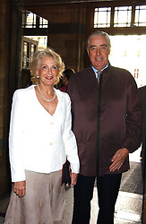 RUPERT & ROBYN HAMBRO at the opening party for Diamonds - a new exhibition at The Natural History Museum, London in association with De Beers held on 6th July 2005.<br /><br />NON EXCLUSIVE - WORLD RIGHTS
