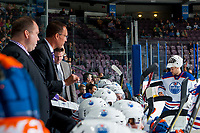 PENTICTON, CANADA - SEPTEMBER 9:  The # of Edmonton Oilers on September 9, 2017 at the South Okanagan Event Centre in Penticton, British Columbia, Canada.  (Photo by Marissa Baecker/Shoot the Breeze)  *** Local Caption ***