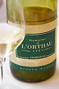 Domaine de l'Orthau 2004 Chardonnay, Arnaud Debord, Coteaux de Carcassonne Languedoc France