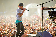 Chance the Rapper performing at the Firefly Music Festival in Dover, DE on June 20, 2014.