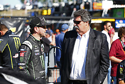 July 20, 2018 - Loudon, New Hampshire, United States of America - Kurt Busch (41) prepares to take to the track to qualify for the Foxwoods Resort Casino 301 at New Hampshire Motor Speedway in Loudon, New Hampshire. (Credit Image: © Justin R. Noe Asp Inc/ASP via ZUMA Wire)