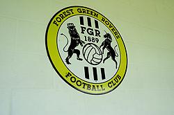 Club logo - Mandatory by-line: Nizaam Jones/JMP - 05/09/2020 - FOOTBALL - New Lawn Stadium - Nailsworth, England - Forest Green Rovers v Leyton Orient - Carabao Cup