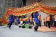 The first ever Great Chicago Fire Festival, Saturday October 4, 2014<br /> <br /> EnjoyIllinois Dance Stage at AMA Plaza