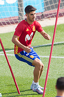 Marco Asensio during the training of the spanish national football team in the city of football of Las Rozas in Madrid, Spain. August 28, 2017. (ALTERPHOTOS/Rodrigo Jimenez)