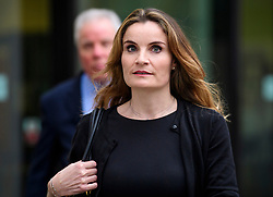 © Licensed to London News Pictures. 14/03/2017. London, UK. GORDON Ramsay's sister-in-law  ORLANDA BUTLAND leaves Westminster Magistrates Court in London where she and other members of her family faced charges relating to hacking in to the celebrity chefs computer. Hutcheson, 68, is accused of conspiracy to access Ramsay's PC after a fall-out when the TV cook fired him as chief executive of his business. Photo credit: Ben Cawthra/LNP
