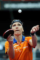 09-05-2011 TAFELTENNIS: WORLD TABLE TENNIS CHAMPIONSHIPS: ROTTERDAM<br /> Yana Timina NED<br /> ©2011-FotoHoogendoorn.nl