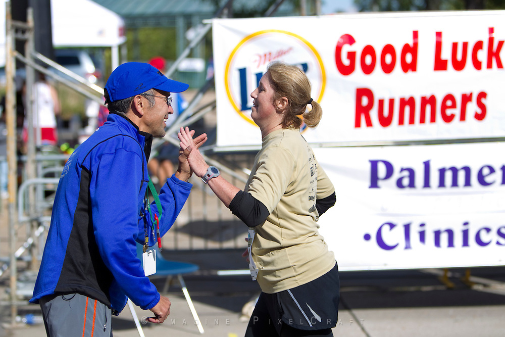 Athletes and fans all have fun at the Quad Cities Marathon. From elite runners to the youngest athletes, this event makes a winner of everyone.