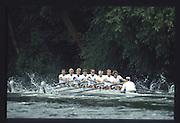 Henley on Thames. United Kingdom. 1990 Henley Royal Regatta, Henley Reach, River Thames. 06/07.1990<br /> <br /> [Mandatory Credit; Peter SPURRIER/Intersport Images] 1990 Henley Royal Regatta. Henley. UK