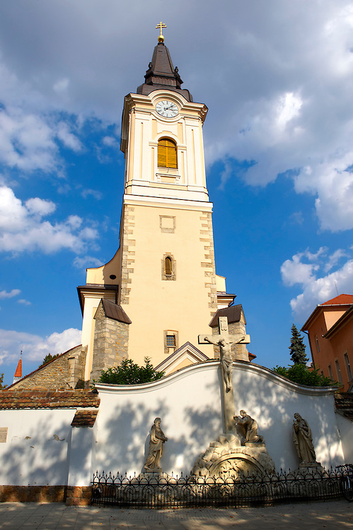 The Church of St Francis -  Kecskemét , Hungary .<br /> <br /> Visit our HUNGARY HISTORIC PLACES PHOTO COLLECTIONS for more photos to download or buy as wall art prints https://funkystock.photoshelter.com/gallery-collection/Pictures-Images-of-Hungary-Photos-of-Hungarian-Historic-Landmark-Sites/C0000Te8AnPgxjRg