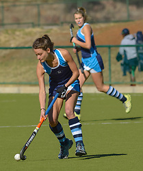 Brittany Louw of Springfield during day two of the FNB Private Wealth Super 12 Hockey Tournament held at Oranje Meisieskool in Bloemfontein, South Africa on the 7th August 2016, <br /> <br /> Photo by:   Frikkie Kapp / Real Time Images