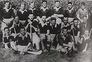Cork All-Ireland Hurling Champions 1944. Back Row: J Quirke, C Murphy, A Lotty, W Murphy, J Kelly, T Mulcahy, P O'Donovan, B Thornhill, J Barry (trainer). Front Row: J Young, J Lynch, S Condon, J Morrison, C Cottrell, C Ring, D J Buckley.