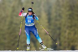 Lena Haecki (SUI) during Women 15km Individual at day 5 of IBU Biathlon World Cup 2018/19 Pokljuka, on December 6, 2018 in Rudno polje, Pokljuka, Pokljuka, Slovenia. Photo by Ziga Zupan / Sportida