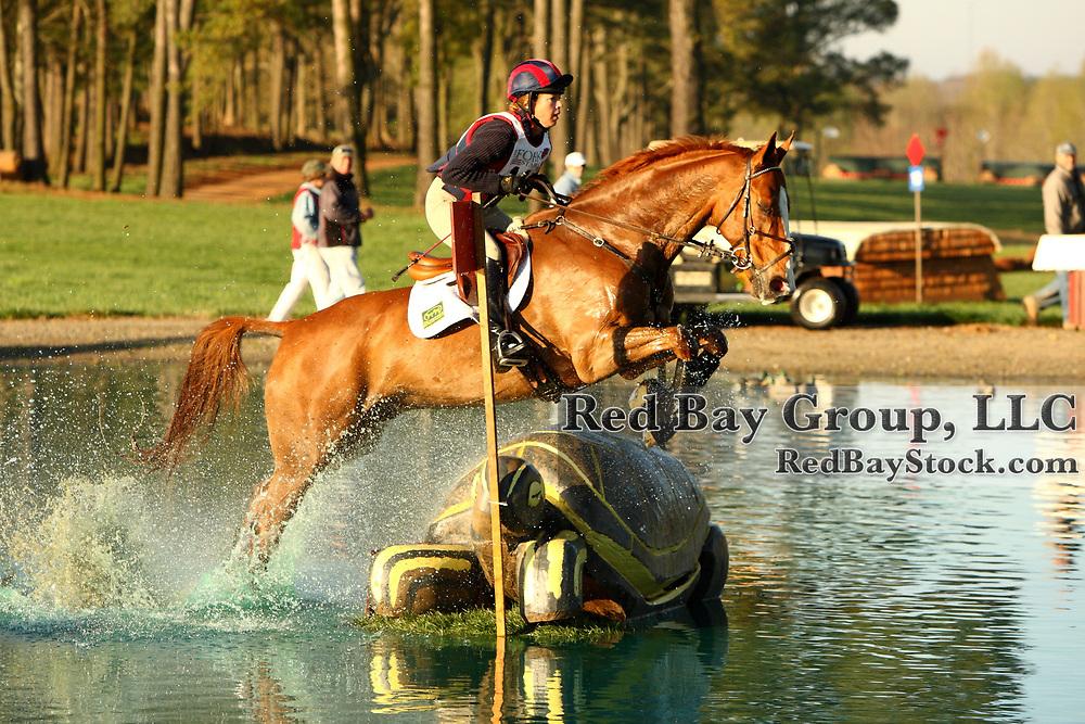 Mara Dean and High Patriot at The Fork Horse Trials in Norwood, North Carolina.