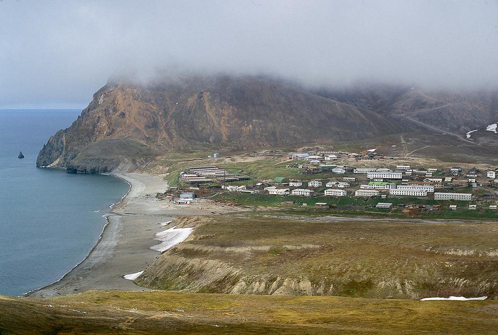 Village of Sireniki, Gulf of Anadyr, Chukotsk Peninsula, Northeast Russia