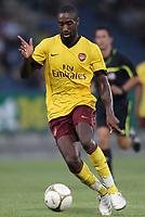 Fotball<br /> 21.07.2010<br /> Foto: Gepa/Digitalsport<br /> NORWAY ONLY<br /> <br /> SK Sturm Graz vs Arsenal FC<br /> <br /> Bild zeigt Johan Djourou (Arsenal).