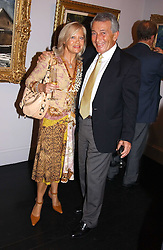 RENEE and ELIZABETH DAHAN he is a co-owner of the gallery at the opening of the Opera Gallery in London, 134 New Bond Street, London W1 on 29th September 2005.<br /><br />NON EXCLUSIVE - WORLD RIGHTS