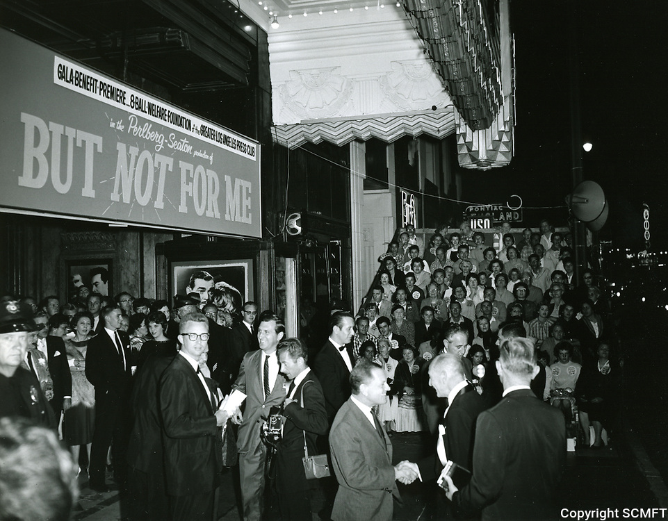1959 Premiere of But Not For Me at the Pantages Theater