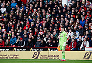 Dean Henderson of Sheffield Utd during the Premier League match at Bramall Lane, Sheffield. Picture date: 7th March 2020. Picture credit should read: Simon Bellis/Sportimage