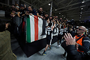 Pajola Alessandro ,  pubblico , tifosi <br /> LegaBasket Serie A 2019/2020<br /> 13° Giornata - Andata - 15/12/2019 <br /> Segafredo Virtus Bologna - Happy Casa Brindisi 99-87<br /> Bologna Virtus Segafredo Arena14/12/2019 Ore 20:30<br /> foto GiulioCiamillo/Ciamillo